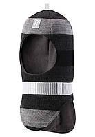 Зимняя шапка - шлем для мальчика Reima Starrie 518422-9730. Размер 48.