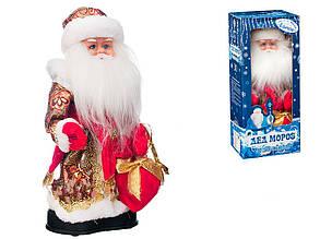 Дед мороз музыкальный на батарейках 30 см