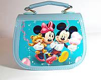 "Сумочка для девочки "" Minnie Mouse"" лаковая"