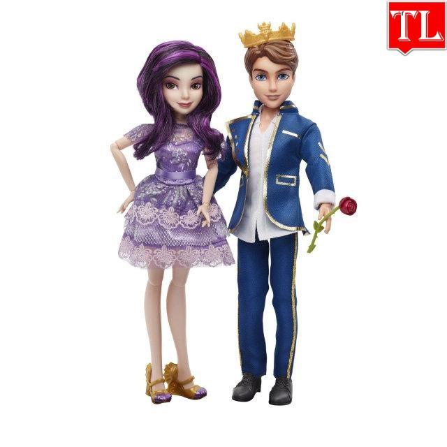 Лялька Спадкоємці Дісней Мел і Бен / Disney Descendants 2-Pack Mal and Ben