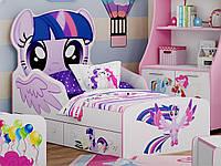 Детская кровать Little Pony Искорка