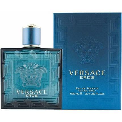 Мужская туалетная вода Versace Eros, фото 2