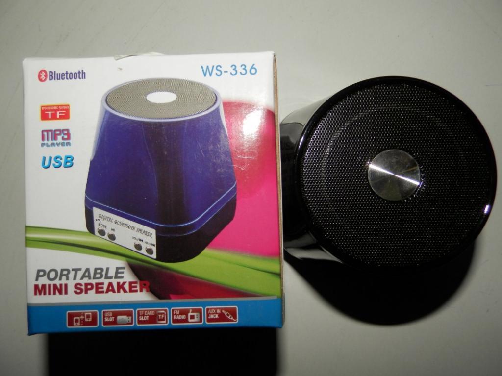 Портативная колонка WS-336 USB/microSD BLUETOOTH