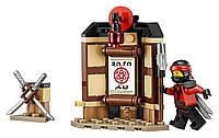 LEGO NINJAGO Movie Лего ниндзяго Оригинал Тренировки Кружитцу 109 pcs Конструктор 70606