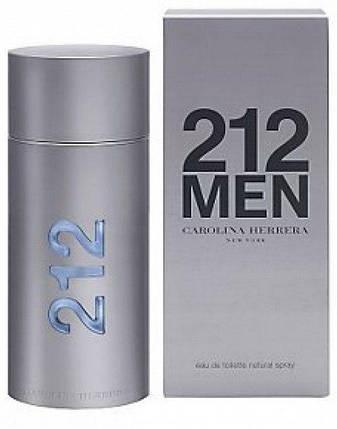 Мужская туалетная вода Carolina Herrera 212 Men (Каролина Эрейра 212 Мэн), фото 2