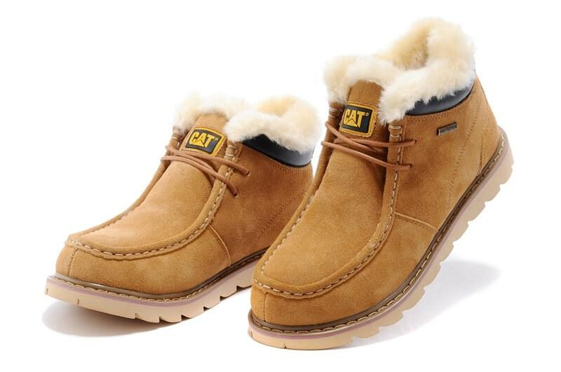 cc3347e240ee Caterpillar Winter Boots Yellow. Стильные ботинки. Интернет магазин мужской  обуви. Большой выбор!