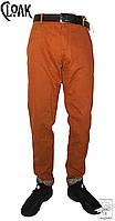 Брюки зауженные Cloak р. 30 прямые оранжевые весенние демисезонные мужскиее