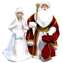 Дед Мороз и Снегурочка под ёлку