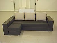 "Угловой диван ""Бостон"" с пуфом. витрина 66., фото 1"