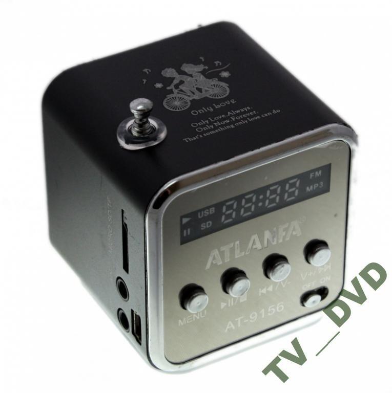 Портативная Колонка MP3 microUSB FM AT-9156