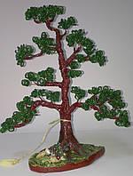 Денежное дерево из бисера Символ могущества и силы, фото 1