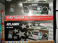 Колонка Atlanfa AT-8809 Радио USB SD АКБ и 220в