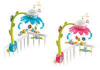 Оригинал. Музыкальный мобиль на кроватку цветочек Cotoons Smoby 110110N