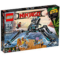 Лего ниндзяго  Оригинал Водяной робот 494 pcs КонструкторLEGO Ninjago Movie Water Strider 70611