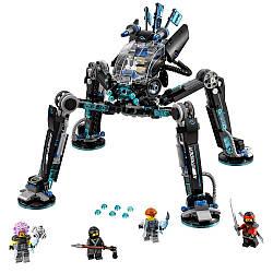 LEGO Ninjago Movie Water Strider 70611 Лего ниндзяго Оригинал Водяной робот 494 pcs Конструктор