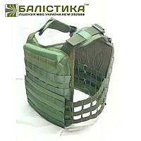 Плитоноска  Plate carrier Балістика М1 Олива