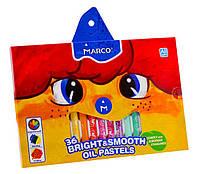 Мел пастель масленая Colorite 36 цветов Marco