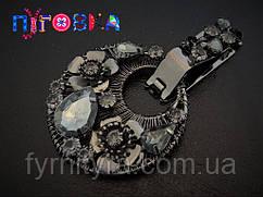 Кліпса шубна (шубний гачок) 029, black