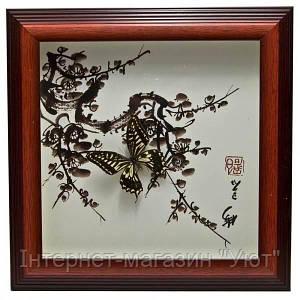 Бабочки в рамке (30х30х3 см)