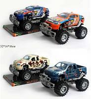 Детская игрушечная машинка  Джип 927A/937A спорт/пикап инерция 32*16*16 ш.к.