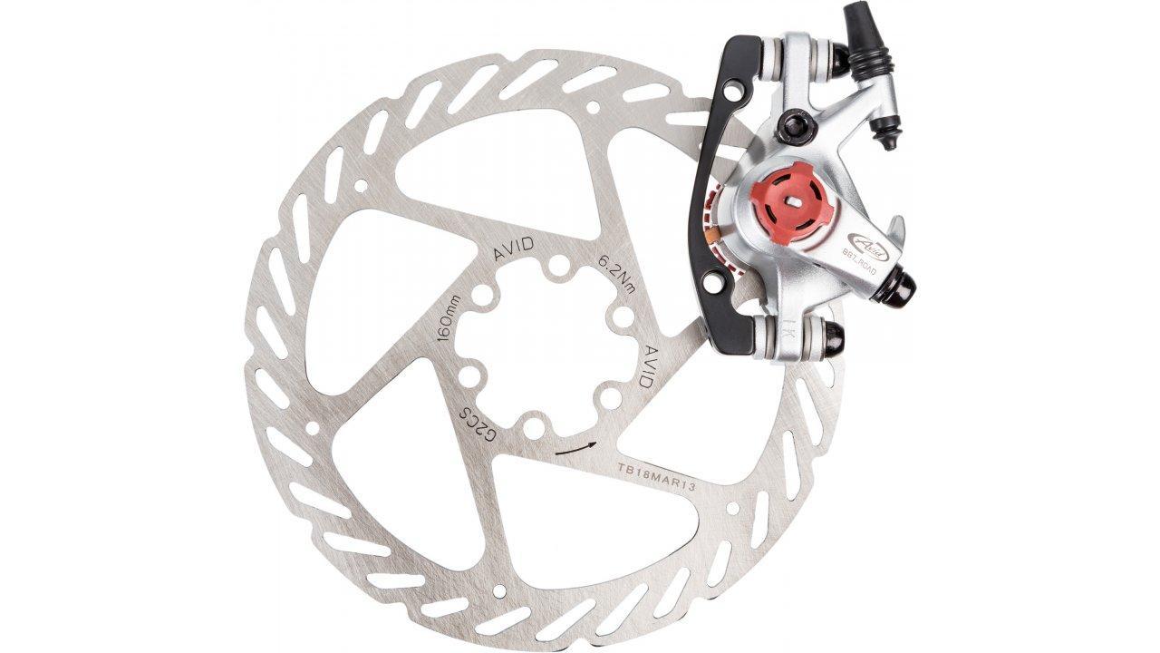 Тормоза дисковые механические Avid BB7 Platinum + 160 мм ротор
