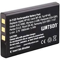 Акумулятор FUJI NP-60 3.7V 1400mAhLi-Ion (Cas NP-30, Pen DL12,Oly Li20,