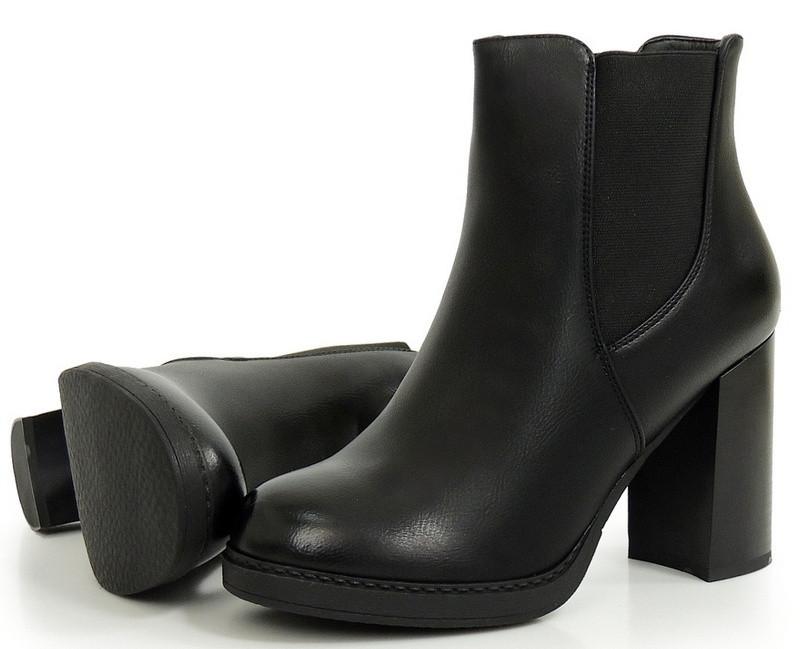 Женские ботинки Settles black