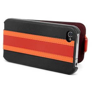 Чехол из премиальной натуральной кожи HOCO Marquess fashion leather case iPhone 4/4S