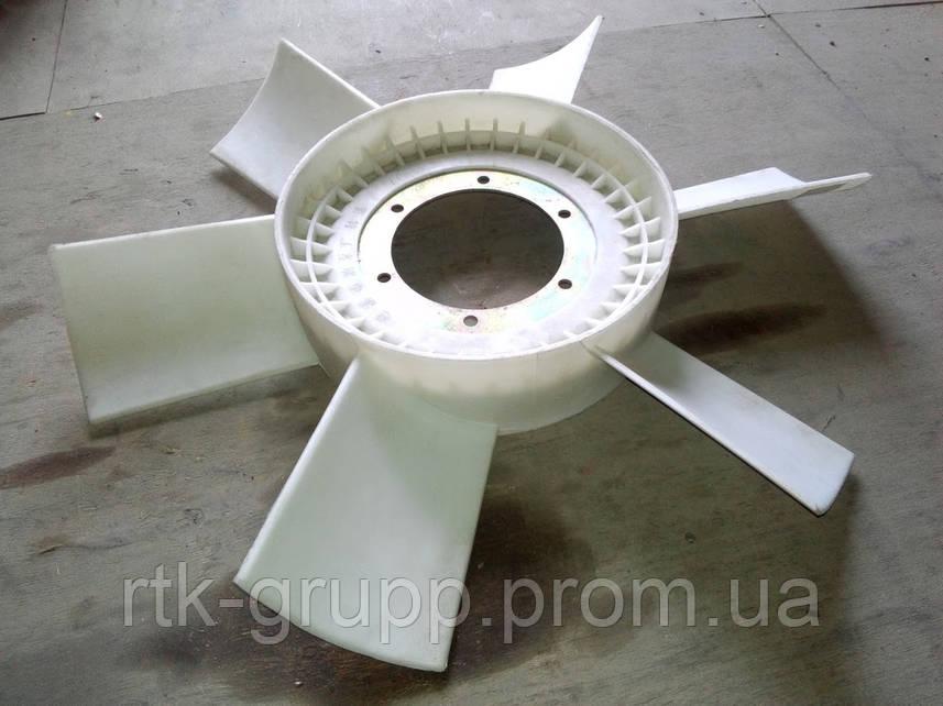 Вентилятор пластмасовый двигателя WD615 #612600060154pl крыльчатка