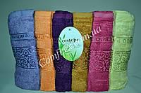 Набор махровых лицевых полотенец Cestepe Premium Bamboo 057 Бамбук 50х90см. (6шт.) - Турция