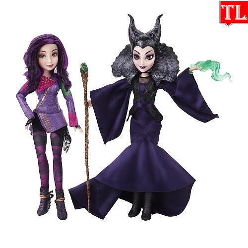 Куклы Наследники Дисней Мэл и Малефисента / Disney Descendants 2Pack Mal Isle of the Lost and Maleficent