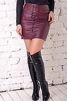 Юбка кожаная Корсет Кожа,(2цв) юбка эко-кожа, юбка кожаная, мини юбка,