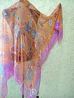 Платок Луи Витон f 140х140, шелк цв.1