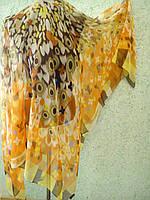 Платок Луи Витон f 140х140, шелк цв.4