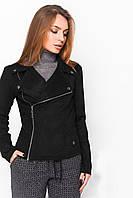 Куртка косуха замшевая (2цв), женская косуха, дропшиппинг