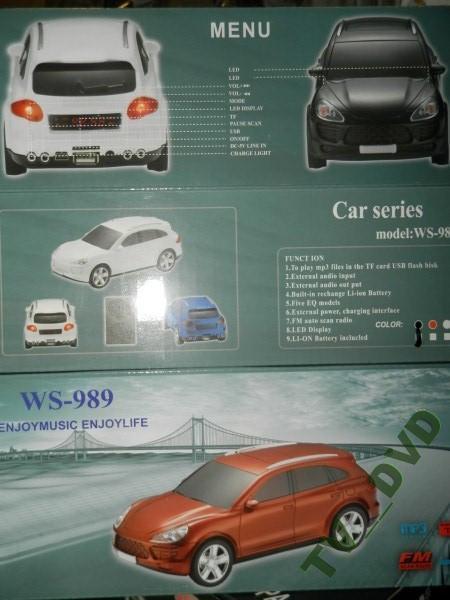 Портативная колонка Porsche Cayenne WS-989