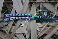 Ніж метелик CS Go, балисонг хамелеон, супер подарунок для хлопця, фото 1
