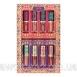 Набір матових помад Tarte posh pout quick dry & glossy lip set (8 кольорів)