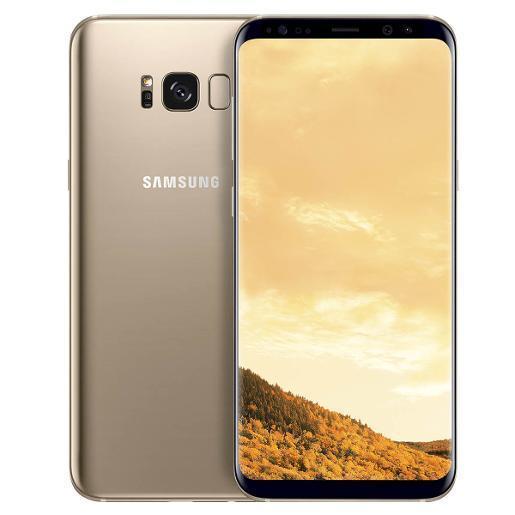Смартфон Samsung G950FD Galaxy S8 4/64gb Duos SIM Maple Gold 3000 мАч Samsung Exynos 9 Octa 8895