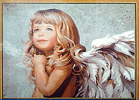 "Картина по номерам ""Маленький ангел"",  худ. Ноэл Ненси,MG338, 40х50см."