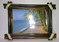 Рамка бамбуковая для фотографий и картин