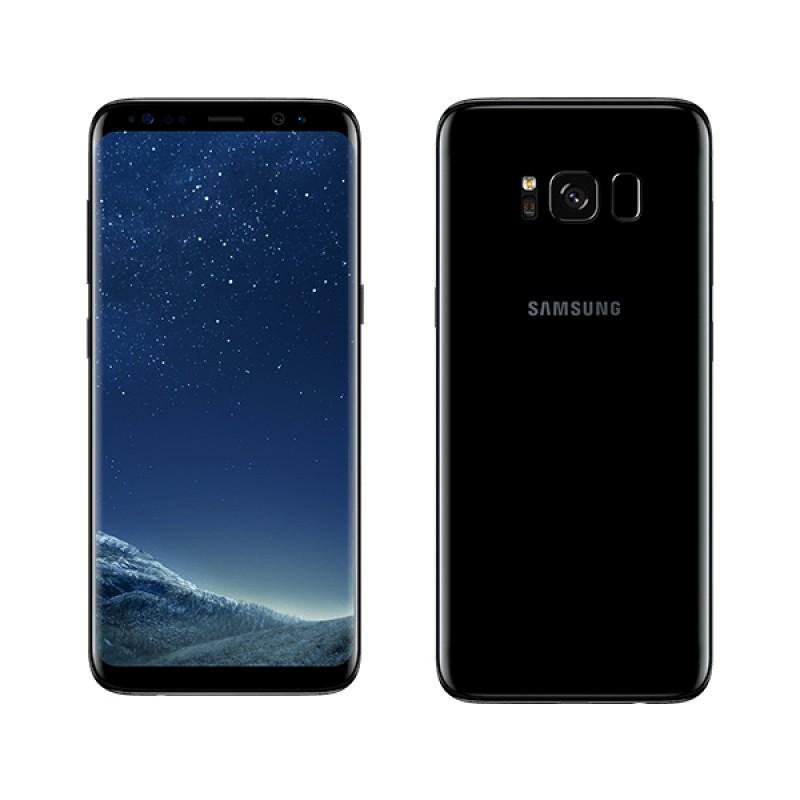 Смартфон Samsung G950FD Galaxy S8 4/64gb Duos SIM Midnight Black 3000 мАч Samsung Exynos 9 Octa 8895