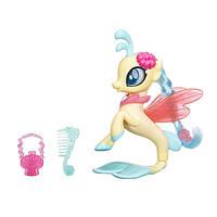 My Little Pony Пони-модницы Мерцание Небесная Звезда the Movie Glitter & Style Seapony Princess Skystar C0683/C1833