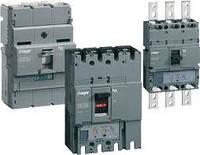 Корпусный автоматический выключатель Hager 100А 3 п