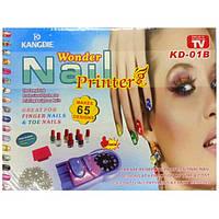 "Набор для нанесения рисунков на ногти ""Wonder Nail"" (принтер для маникюра), фото 1"