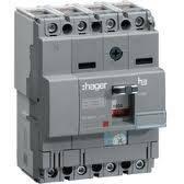 Корпусной автоматический выключатель 100А 4п, (Hager)