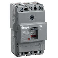 Корпусный автоматический выключатель Hager / 125А