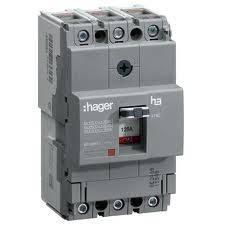 Корпусный автоматический выключатель Hager / 125А, фото 2