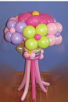 """Яркий букет из воздушных шаров """"Мозаика"""".(7шт)"""