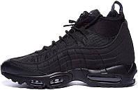 Мужские утепленные кроссовки Nike Air Max 95 Sneakerboot Black